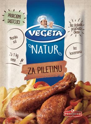 Za prirodno neodoljivu piletinu
